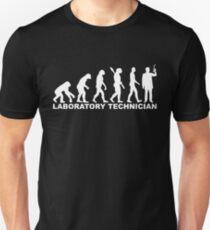Evolution laboratory technician Unisex T-Shirt