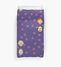 Phish with Fishman Donuts  Duvet Cover