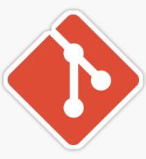 Git icon Sticker