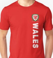 Wales Sport Football  Unisex T-Shirt