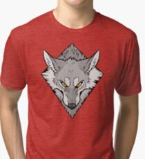 Scrappy (B&W)  Tri-blend T-Shirt