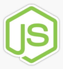 NodeJS icon Sticker