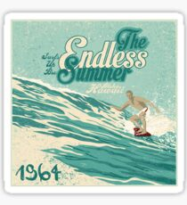 The endless summer 1964  Sticker