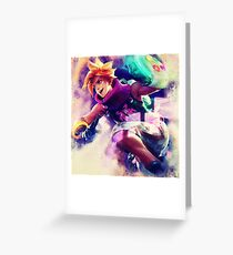 Arcade Ezreal Greeting Card
