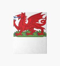Cymru Wales Dragon Deluxe Design Art Board