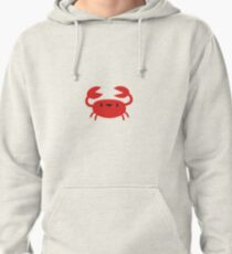 Happy Crab Pullover Hoodie