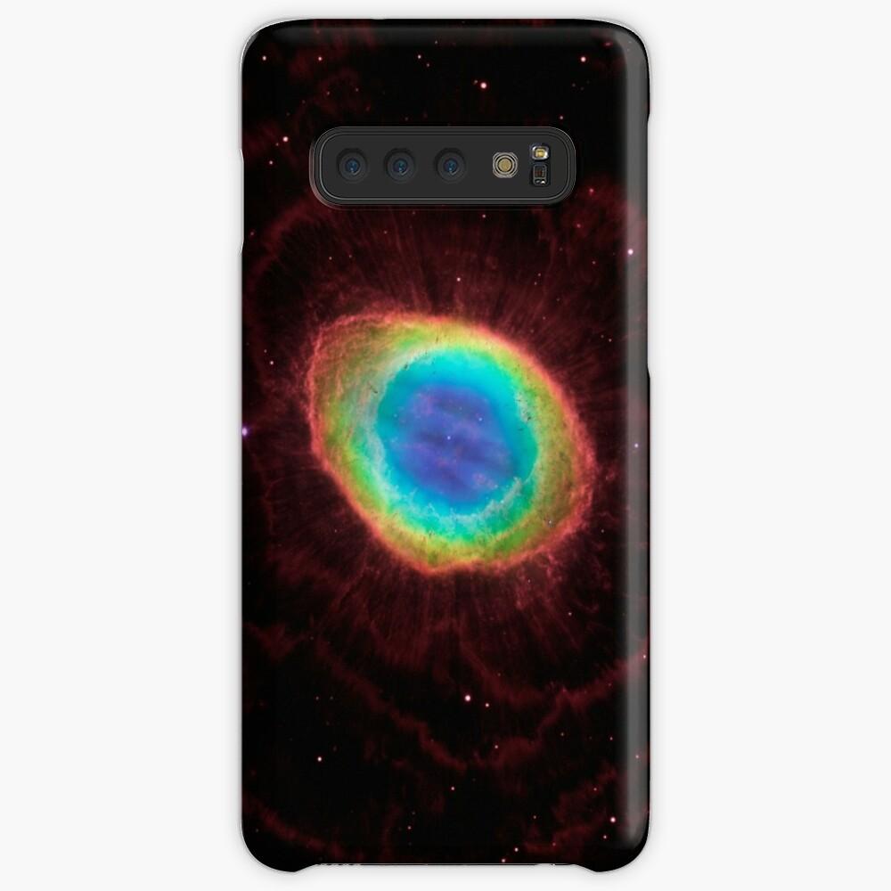 Universum Auge Supernova Hülle & Klebefolie für Samsung Galaxy