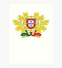 Portugal National Deluxe Game Design Art Print