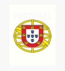 Original Portuguese National Seal Design Art Print