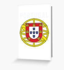 Original Portuguese National Seal Design Greeting Card