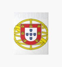 Original Portuguese National Seal Design Art Board