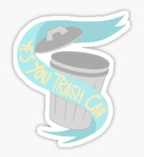 Yes You Trash Can Sticker