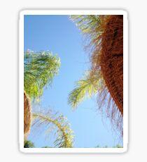 Blue Skies & Palm Trees Sticker