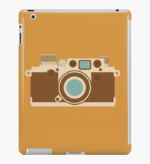Retro 35mm Camera iPad Case/Skin