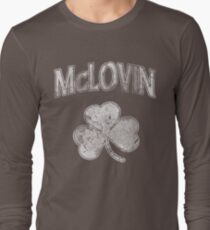 McLovin Irish Shamrock Long Sleeve T-Shirt