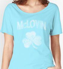 McLovin Irish Shamrock Women's Relaxed Fit T-Shirt