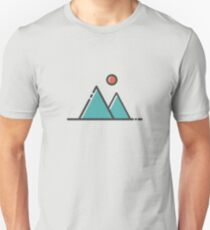 Sun and Mountains Unisex T-Shirt