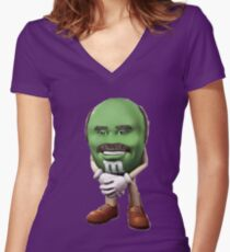 Dr Phil M&M Women's Fitted V-Neck T-Shirt