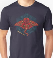 Hawaiian Manta Ray Ocean Design Unisex T-Shirt
