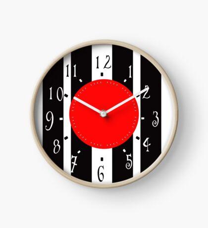 Black and White Clock  Clock