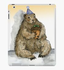 Groundhog Phil's Birthday Party iPad Case/Skin