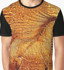 Gold and Glass Graphic T-Shirt