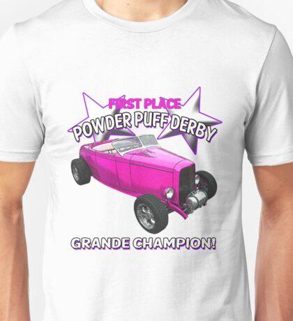 Powder Puff Derby Grande Champion Unisex T-Shirt