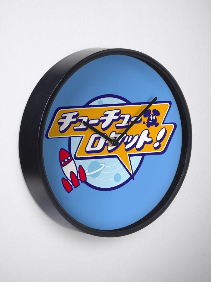 Alternate view of ChuChu Rocket! (Japanese Logo) Clock