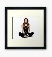 Punk queen Framed Print