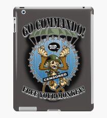 Commando! iPad Case/Skin