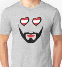 Conchita Wurst - Queen of all Austria Unisex T-Shirt