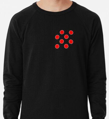 Cube 8 - Red Polka Dots  Lightweight Sweatshirt