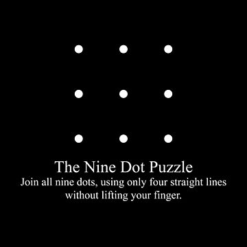 The Nine Dot Puzzle by AlxMtz