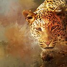 Spotted Leopard by Theresa Campbell