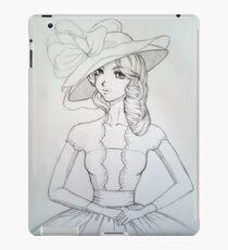 beautiful lady Victorian era iPad Case/Skin
