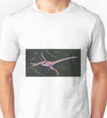 Microraptor Gui Muscle Study Unisex T-Shirt