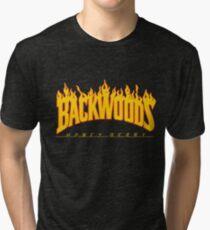Backwoods Thrasher Hoodie Tri-blend T-Shirt