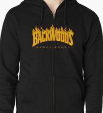 Backwoods Thrasher Hoodie Zipped Hoodie