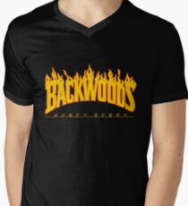 Backwoods Thrasher Hoodie Men's V-Neck T-Shirt