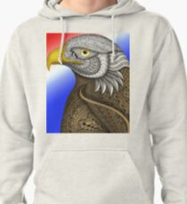Bald Eagle Pullover Hoodie