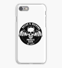 Satan's Helpers - pee wee  iPhone Case/Skin