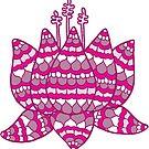 lotus pink  by MRLdesigns