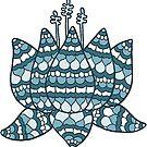 lotus blue by MRLdesigns