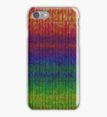 Rainbow Knit Photo iPhone Case/Skin