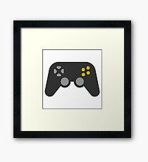 Video Game Emoji Framed Print