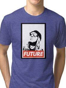 Future obey design Tri-blend T-Shirt