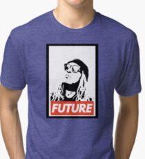 Future obey design Tri-blend T-Shirt