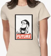 Future obey design Womens Fitted T-Shirt