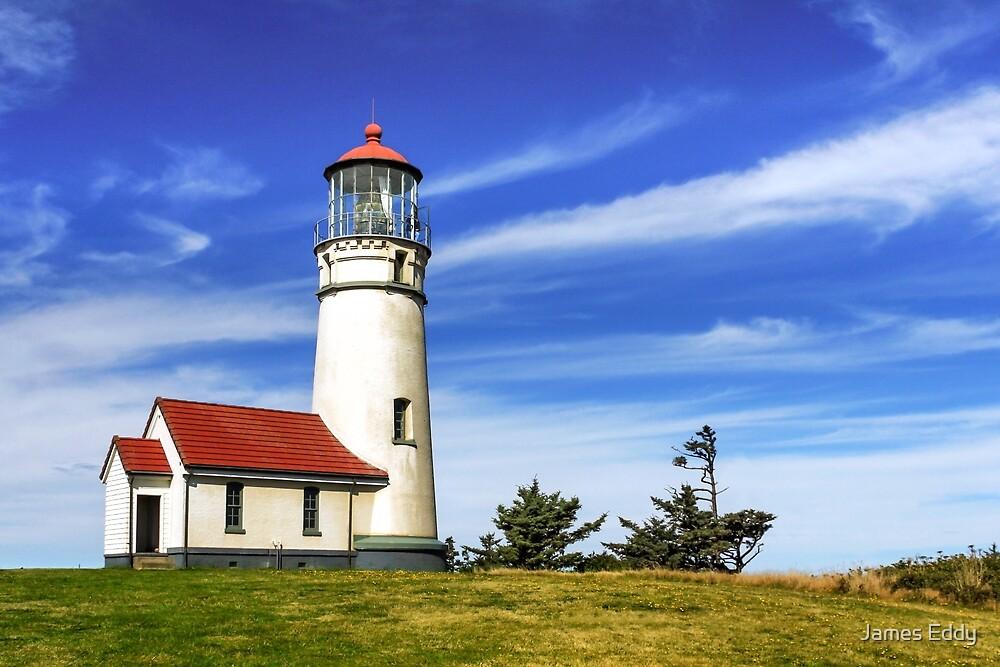 Cape Blanco Lighthouse by James Eddy