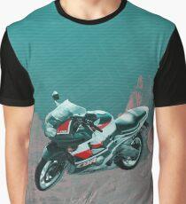 RIDE SERIES  CBR_technicolor Graphic T-Shirt